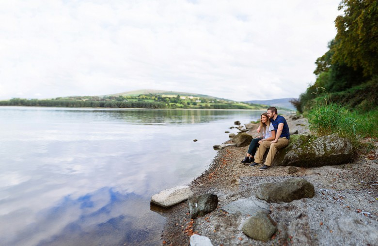 Carol & Ger Engagement  shoot at Blessington Lakes